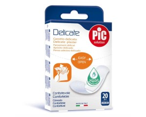 Pikdare Cerotto Pic Delicate 19x72 Mm Antibatterico 20 Pezzi