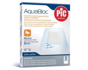 Pikdare Cerotto Pic Aquabloc 10x12 Sterile Antibatterico 5 Pezzi