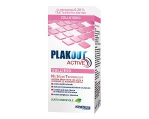 Polifarma Plakout Active Sollievo 0,20 Colluttorio 200 ml