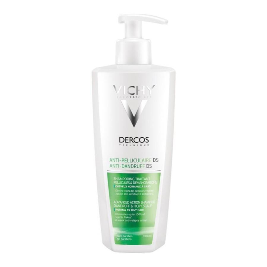 Dercos Shampoo Anti-Forfora Trattante Capelli Grassi 390 ml