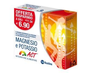 Act Magnesio E Potassio Integratore Alimentare 14 Bustine