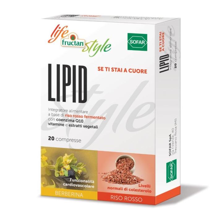 Sofar Lipid Life Style Fructan Integratore Alimentare 20 Compresse
