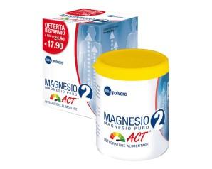 Linea Act Magnesio 2 Act Magnesio Puro Integratore Alimentare 300 g