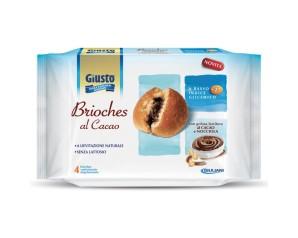 GIUSTO S/Z Brioches Cacao4x45g