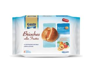 GIUSTO S/Z Brioches Alb.4x45g