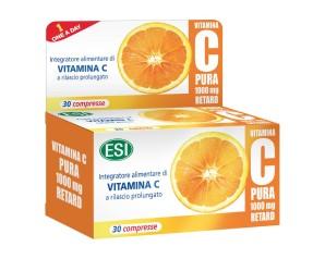 Esi Vitamina C Pura Integratore Alimentare 1000mg Retard 30 Compresse