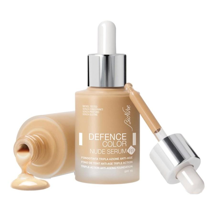 Bionike Defence Color Nude Serum R3 Fondotinta Liquido Viso 603 Biscuit