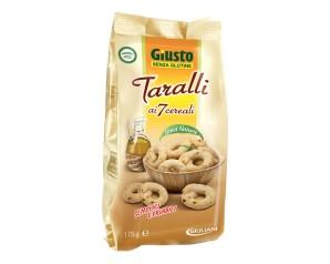 GIUSTO S/G Taralli 7 Cer.175g