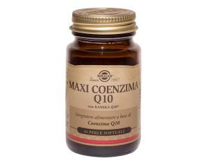 Solgar  Benessere Energia Maxi Coenzima Q10 Integratore Alimentare 30 Perle