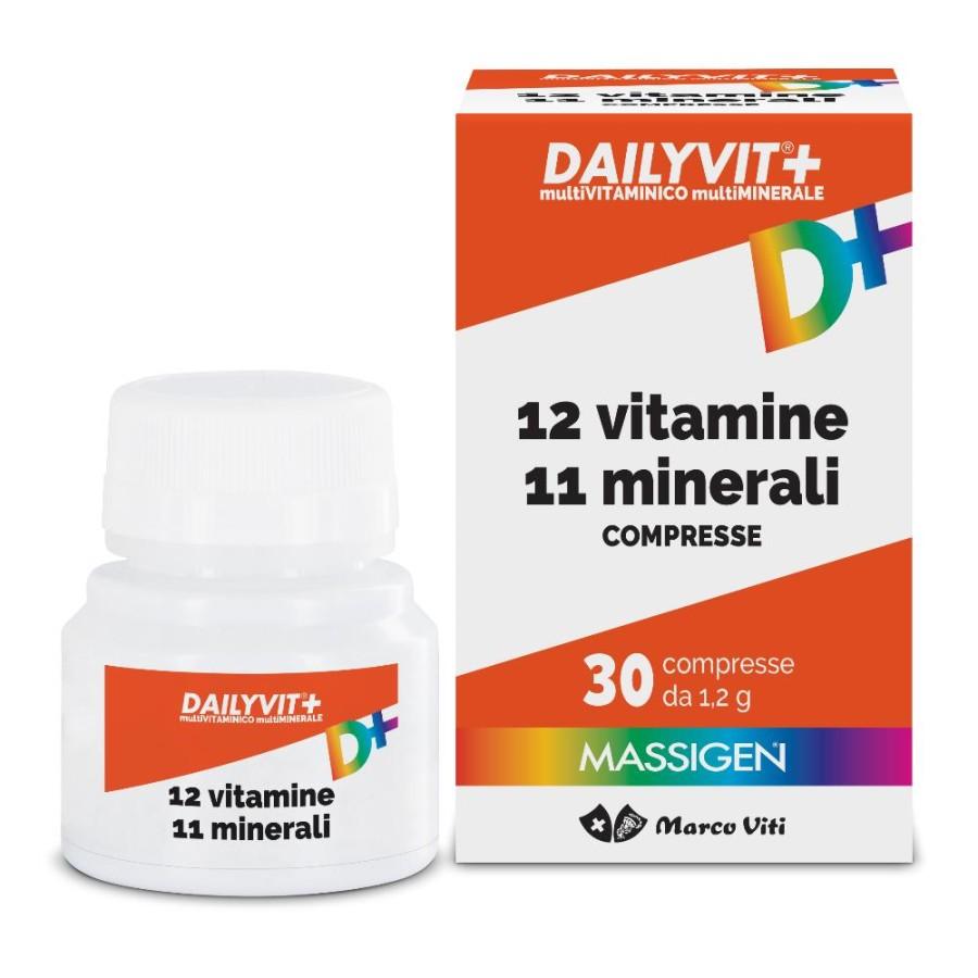 Marco Viti Farmaceutici Dailyvit+ 12 Vitamine 11 Minerali 30 Compresse