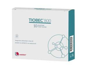 Tiobec 800 Integratore Alimentare 10 Bustine Fast-Slow