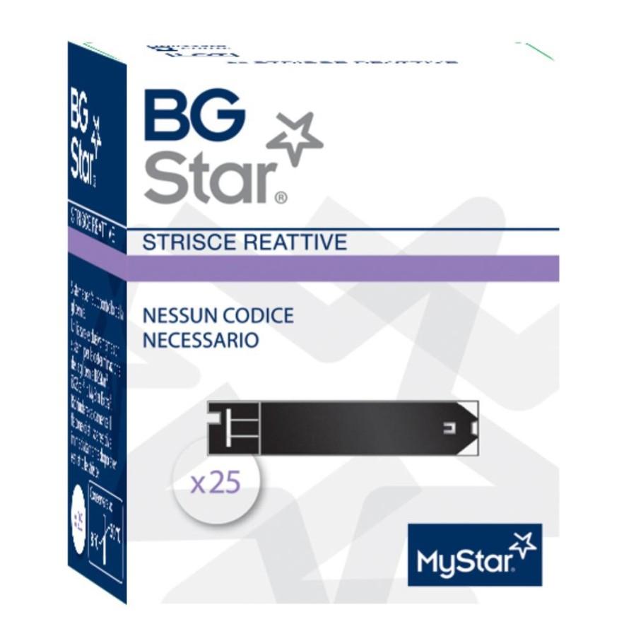 Sanofi Bgstar Mystar Extra Strisce Reattive 25 Strisce