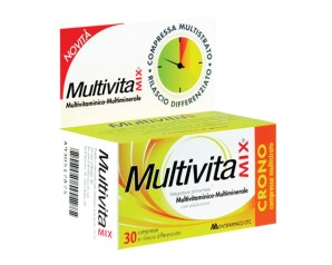 Montefarmaco Otc Multivitamix Crono 30 Compresse