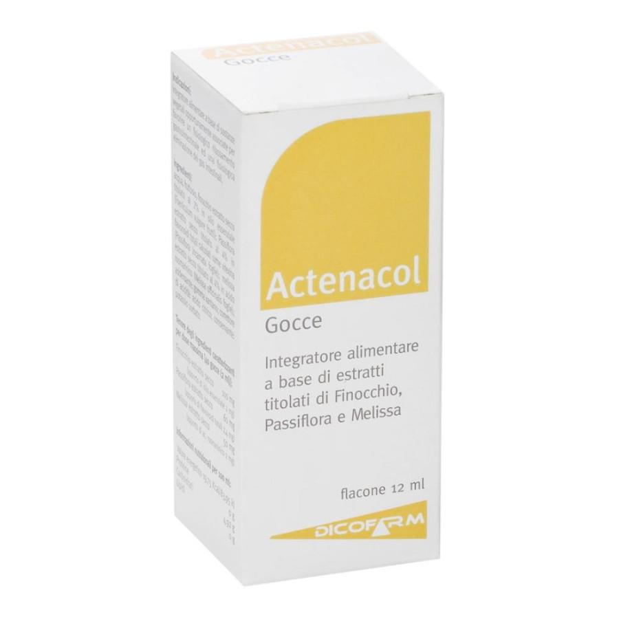 Dicofarm Actenacol Gocce Integratore Alimentare Flacone 12 ml