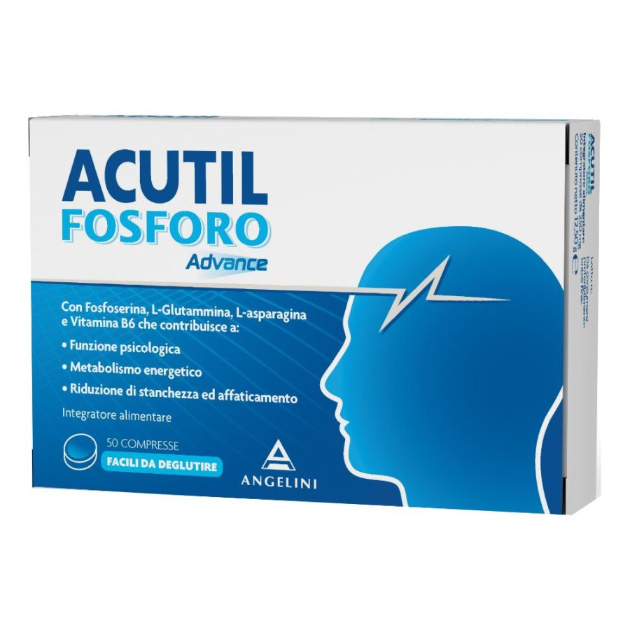 Acutil Fosforo  Advance Integratore Alimentare 50 Compresse