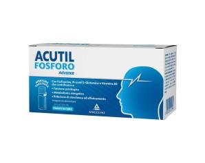 Angelini Acutil Fosforo Advance Integratore Alimentare 10 Flaconcini
