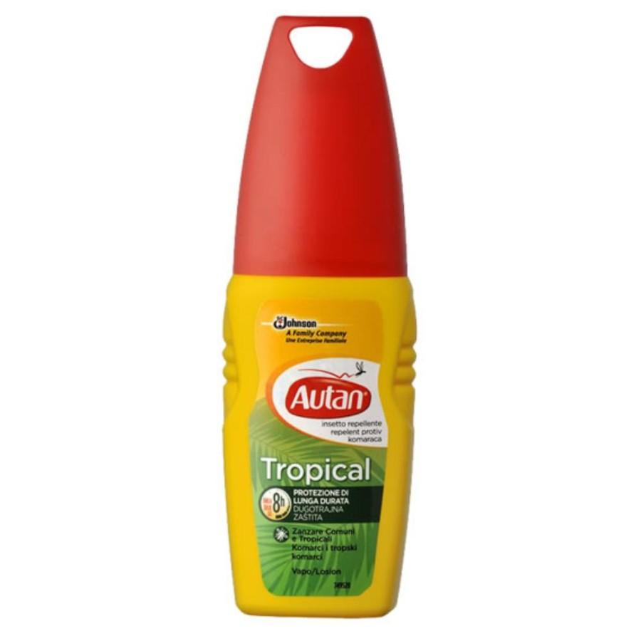 Autan Tropical Vapo Spray Delicato Insetto-Repellente 100 ml