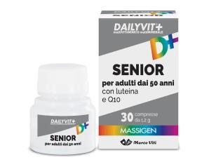 Massigen  Benessere ed Equilibrio Dailyvit+ Senior 30 Compresse