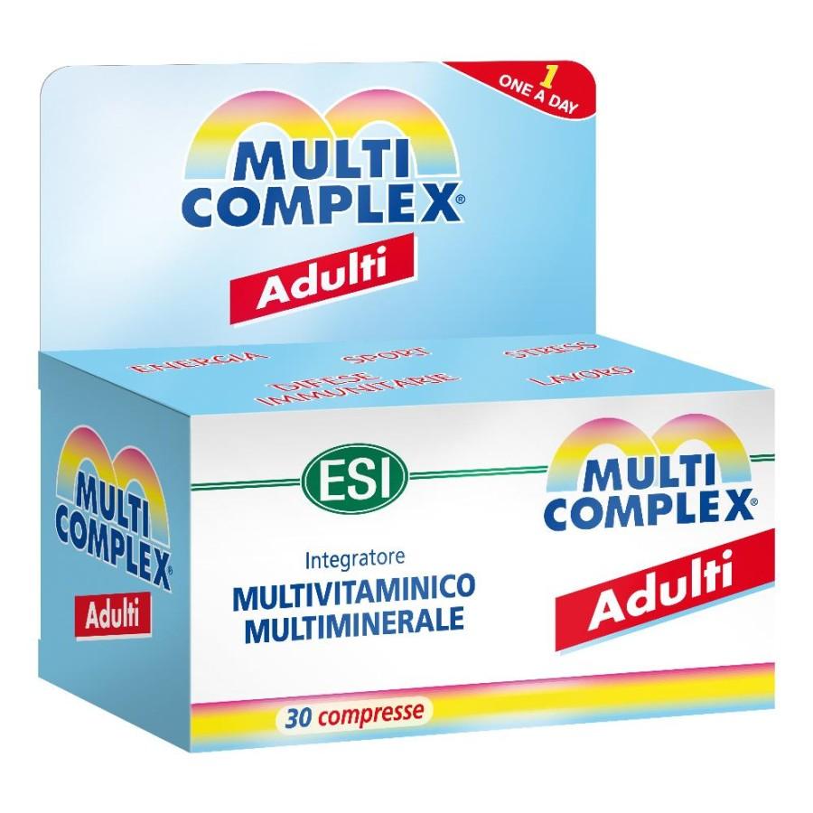 Esi  Vitamine e Minerali Multicomplex Adulti Integratore 30 Compresse