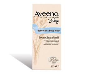 Aveeno  Baby Bagnetto Idratante Lenitivo Corpo e Capelli 300 ml