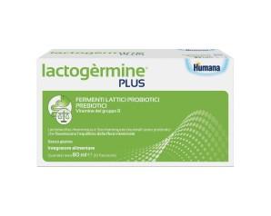 Humana Lactogermine Plus Integratore Alimentare 10 Flaconcini