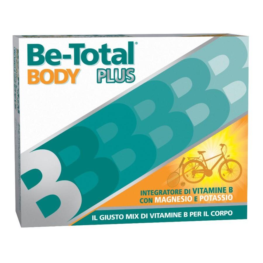 Betotal Plus Body Integratore Vitamine B Magnesio e Potassio 20 Bustine