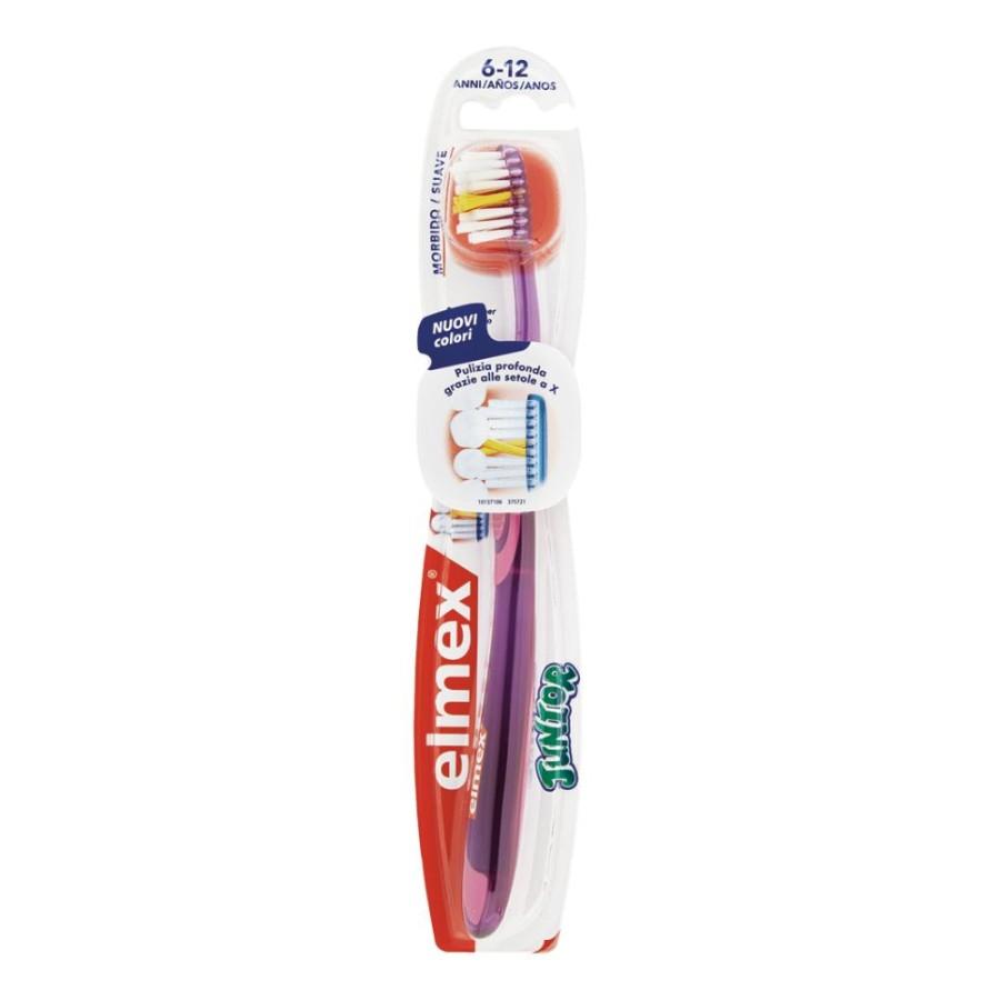 elmex  Igiene Dentale Quotidiana Bimbi Spazzolino Delicato Junior 6-12 Anni