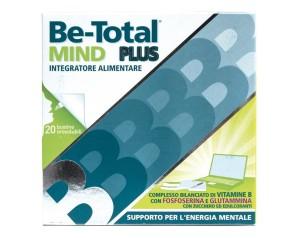 Be-total Mind Plus Integratore Alimentare Supporto Energia Mentale 20 Bustine