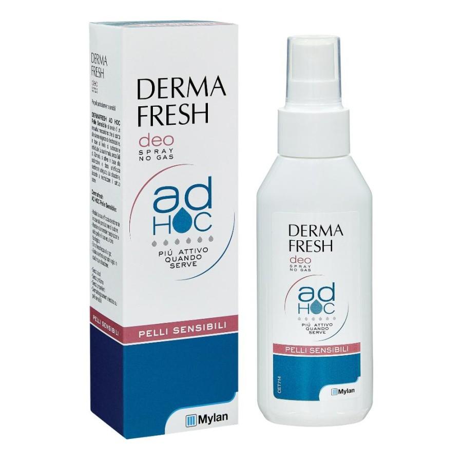 Dermafresh Pelli Sensibili Latte Deodorante Vitamina E Senza Alcool 100 ml