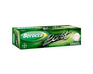 Bayer Berocca Boost Integratore 15 Compresse Effervescenti