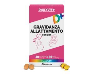 Massigen  Benessere Dailyvit+ Gravidanza e Allattamento 30 Compresse 30 Prl