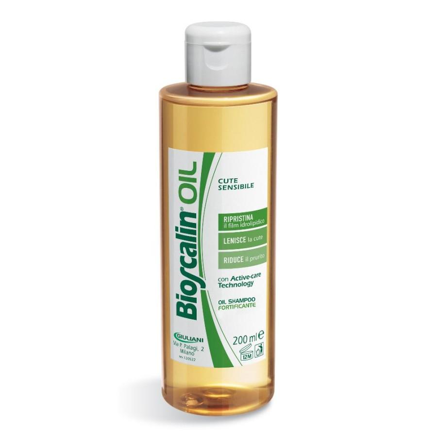 Bioscalin  Oil Ripristina Lenisce Riduce Olio Shampoo Anticaduta 200 ml