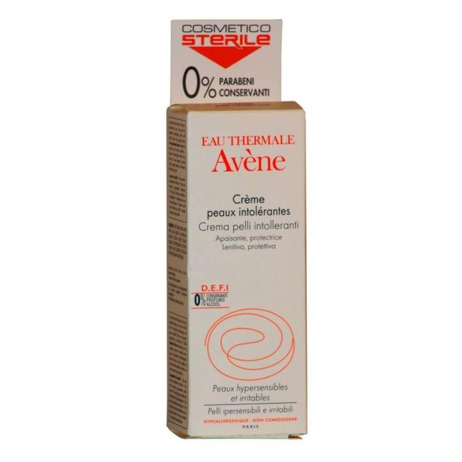 Avene Pelli Intolleranti Crema Lenitiva Calmante  Essenziale Viso 50 ml