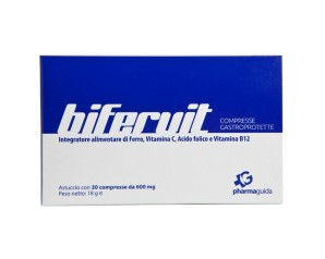 Pharmaguida  Vitamine Minerali Bifervit Integratore Alimentare 30 Compresse