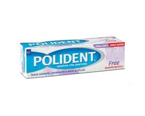 Polident Free Crema Adesiva Protettiva senza Zinco 40 g