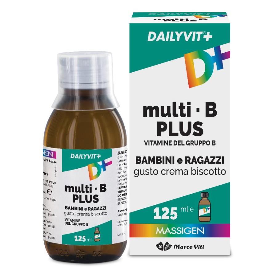 Massigen  Vitamine Minerali Dailyvit+ Multi B Integratore Sciroppo 125 ml