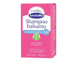 EuPhidra  AmidoMio Shampoo Balsamo 2 in 1 Pelli Sensibili 200 ml