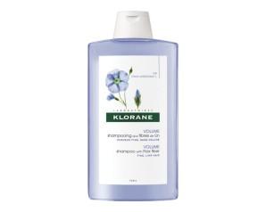 Klorane Shampoo Fibre di Lino Districante Volumizzante 200 ml