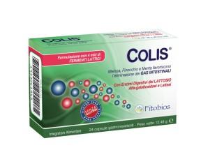Fitobios Colis 24 Capsule Gastroresistenti 520 mg