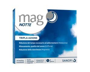 Sanofi Aventis  Vitamine e Minerali Mag Notte Integratore 24 Buste Agrumi