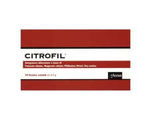 Acrux Citrofil 20 Bustine 4,5 G