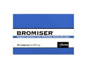 Acrux Bromiser 20 Compresse 850 Mg