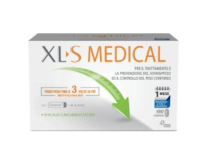 XLS Medical  Controllo del Peso Liposinol Integratore 180 Compresse 1 Mese
