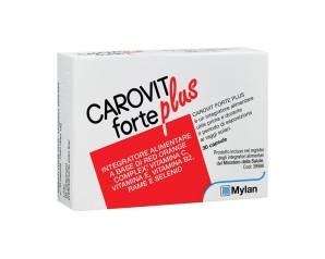 Rottapharm Carovit Forte Plus Esposizione Solare Integratore 30 Capsule