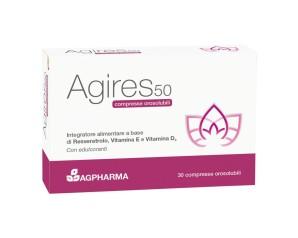 AGPharma  Antiossidanti AG-Res 50 Integratore Alimentare 30 Compresse