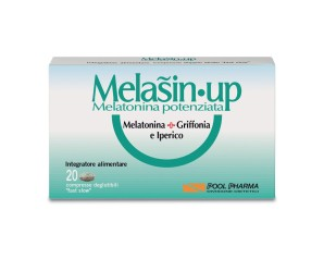 Melasin UP Integratore Alimentare Sonno 20 Compresse