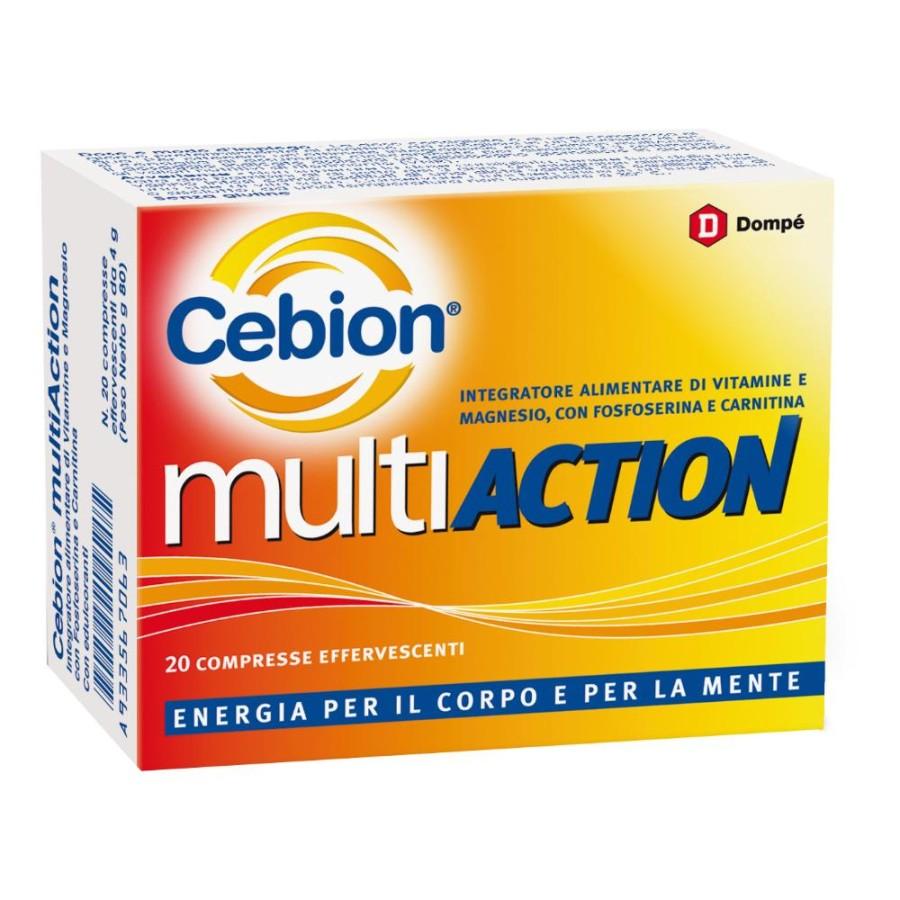 Cebion Multiaction Integratore Alimentare 20 Compresse Effervescenti