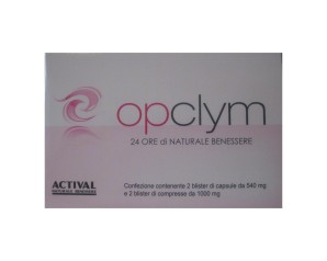 Actival Opclym Blister 20 Capsule + 20 Compresse Astuccio 30,8 G