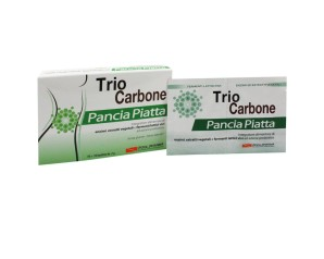 PoolPharma Triocarbone Pancia Piatta Bustine Integratore Alimentare 10+10 Buste