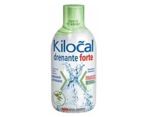 Kilocal Drenante Forte Integratore Alimentare Depurativo 500 ml Tè Verde